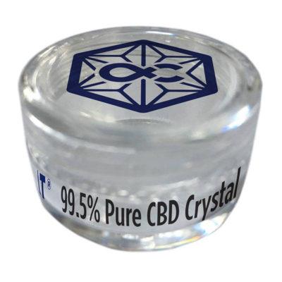 ALPHA-CAT 99% CBD Crystals 1000mg (1gram)