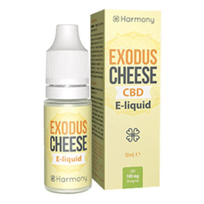 Exodus Cheese Original CBD E-Liquid HAMRONY 10ml