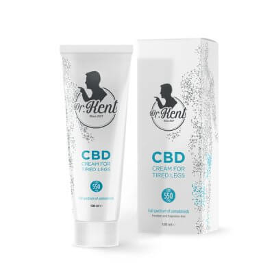 Dr. Kent CREAM FOR TIRED LEGS WITH CBD 550mg CBD | 100ml