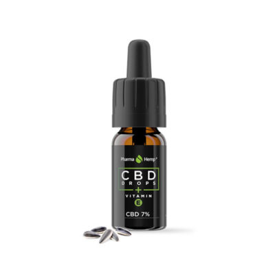 CBD DROPS 7% VITAMINS PHARMAHEMP 10-30ml