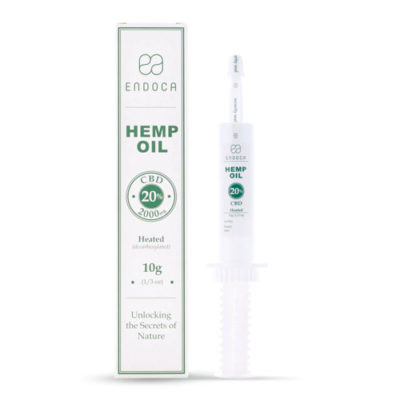 HEMP OIL EXTRACT 200MG CBD/ML (20%) ENDOCA 10ml