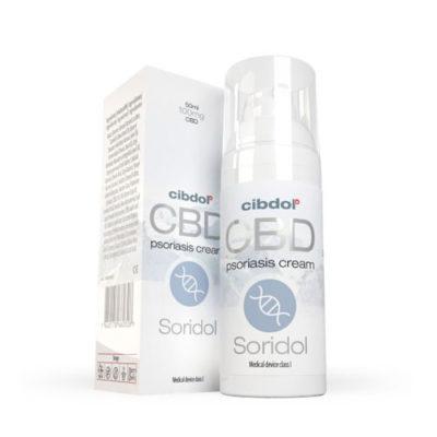 Soridol Psoriasis CBD Cream CIBDOL 50ml