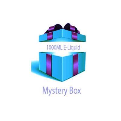 1000ml E-liquid MYSTERY BOX + Nic Shots