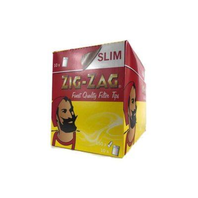 10 x 150 Zig-Zag Slimline Filter Tips