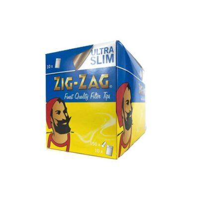 10 x 150 Zig-Zag Ultra Slim Filter Tips