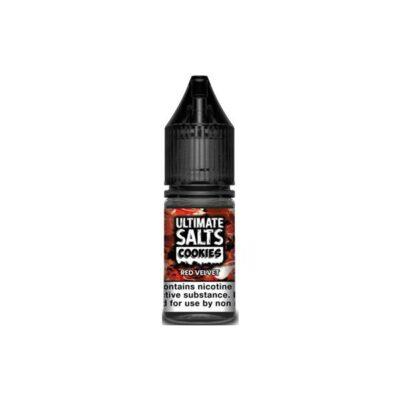 10mg Ultimate Puff Salts Cookies 10ML Flavoured Nic Salts (50VG/50PG)
