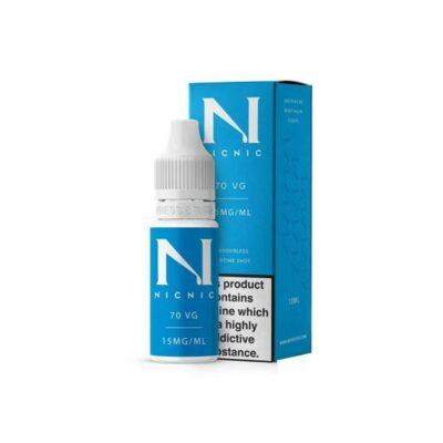 15mg Nic Nic Flavourless Nicotine Shot 10ml 70VG