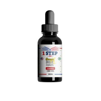 1 Step CBD 1500mg CBD Flavoured Oil 30ml