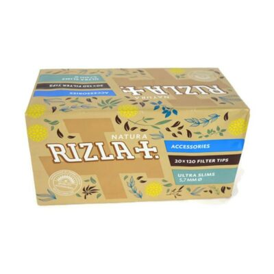 20 Pack 5.7mm Natura Rizla Ultra Slim Filter Tips