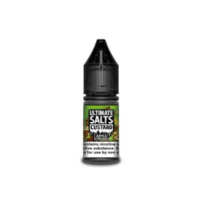 10MG Ultimate Puff Salts Custard 10ML Flavoured Nic Salts