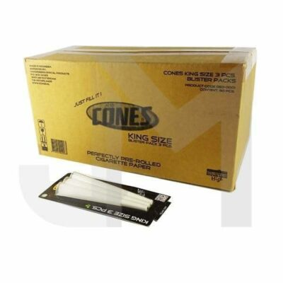 Cones King Size Pre-rolled 3 Pieces Blister Pack