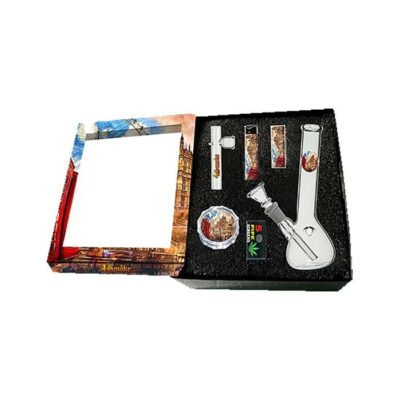 4Smoke Glass Bong Gift Set – GB54