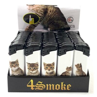 50 x 4Smoke Electronic Printed Lighters – DY068