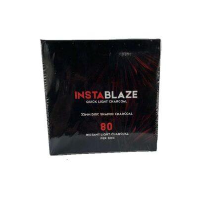 Insta Blaze Quick Light Charcoal For Shisha Hookah – (80 Pieces)