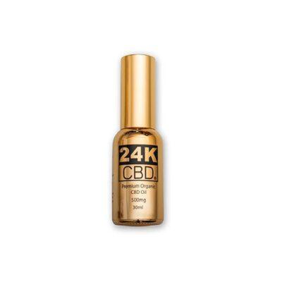 24K CBD 500mg Premium Organic Hemp Seed Oil 30ML