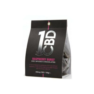 1CBD CBD infused Chocolate 300mg CBD 100g