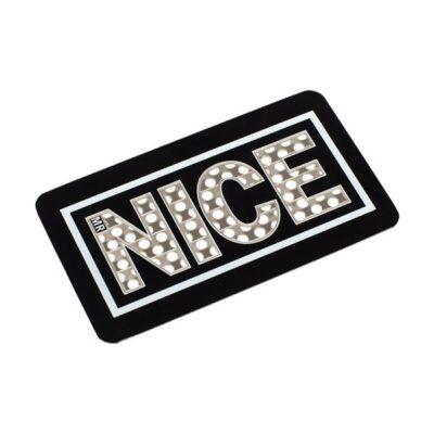 Mr Nice Stay Nice Grinder Card – Black
