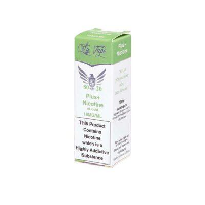 18mg City Vape Flavourless Nicotine Shot 10ml (80VG-20PG)