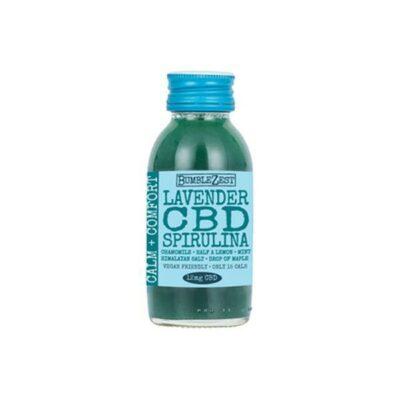 10 x BumbleZest Calm & Comfort 12mg CBD Drink 60ml
