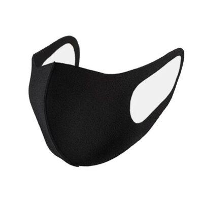 Reusable Anti Dust Black Face Mask