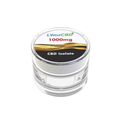 LVWell CBD 99%  Isolate 1000mg CBD