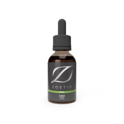 Zoetic 500mg CBD Oil 30ml –  Calming Natural