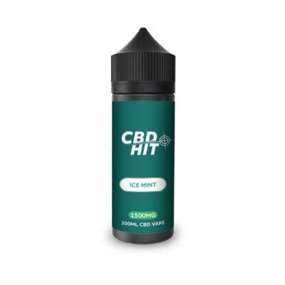 CBD Hit 1500mg CBD Vaping Liquid 100ml (70PG/30VG)
