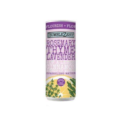 12 x BumbleZest Flourish  Sparkling Water Drink 250ml