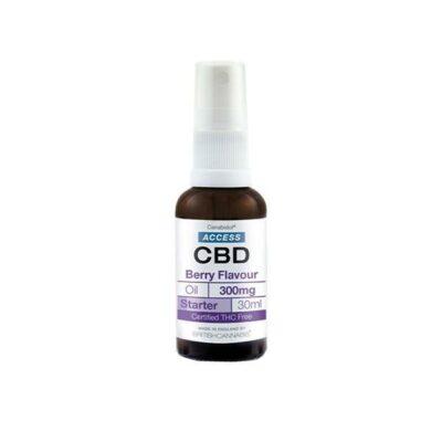 Access CBD 300mg CBD Broad Spectrum Oil 30ml