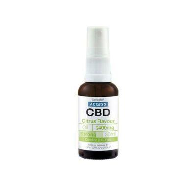 Access CBD 2400mg CBD Broad Spectrum Oil 30ml