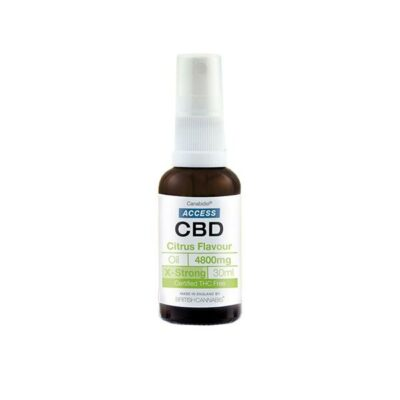 Access CBD 4800mg CBD Broad Spectrum Oil Mixed 30ml