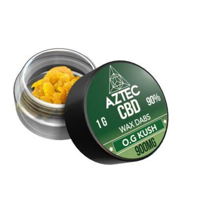 Aztec CBD 900mg CBD Wax/Crumble – 1g
