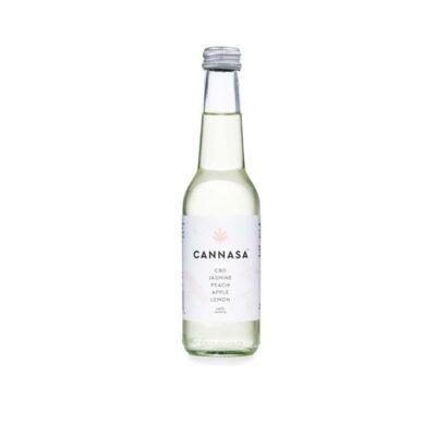 12 x Cannasa botanical 2.5mg CBD Infused Drink 275ml – Peach & Jasmine