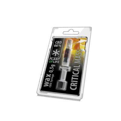 CBD Wax 0.5G Critical Mass 66%