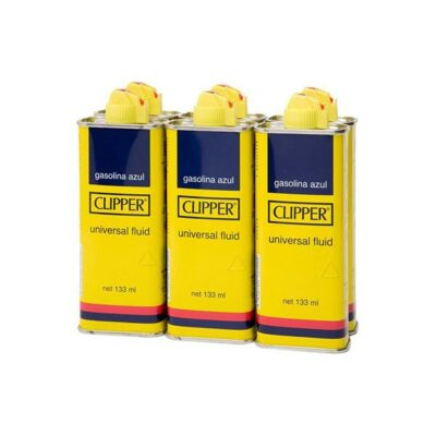 12 x Clipper Tin Lighter Fluid 100ml