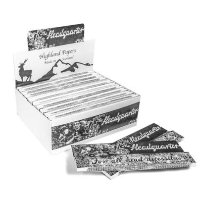 24 Highland Headquarters King Size Rolling Paper & Tips