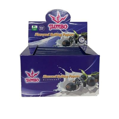24 Jumbo Flavoured King Size Rolling Papers