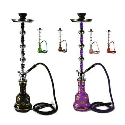 Large 1 Hose Shisha Hookah – Assorted Colours