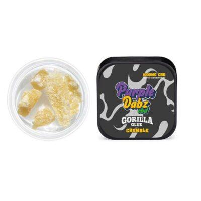 Purple Dabz by Purple Dank 1000mg CBD Crumble – Gorilla Glue