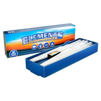 40 Elements Ultra Thin King Size Pre-Rolled Cones