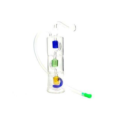 Stylish Glass Water Pipe – No 10