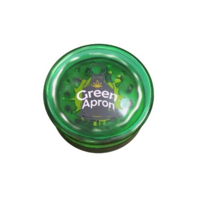 Green Apron Plastic 3 Part Grinder 60mm