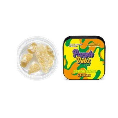 Purple Dabz CBD 1000mg CBD Crumble – Lemon Haze