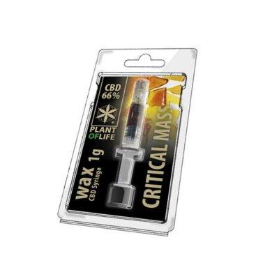CBD Wax 1G Critical Mass 66%