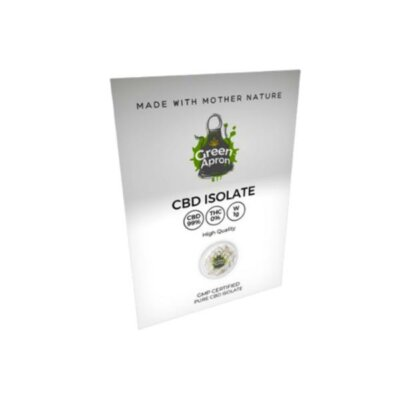 Green Apron 99% CBD Isolate 1g
