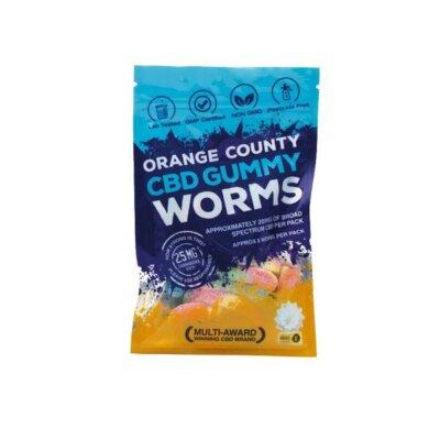 Orange County CBD 200mg Gummy Worms – Grab Bag