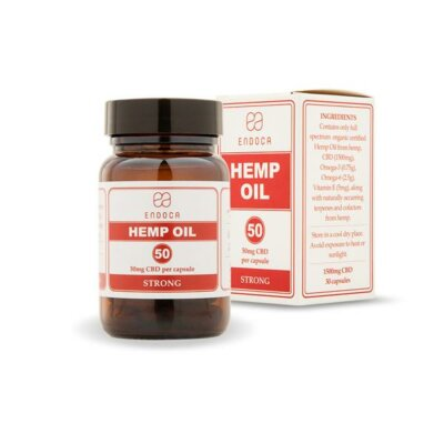 Endoca 1500mg CBD Capsules Hemp Oil – 30 Caps