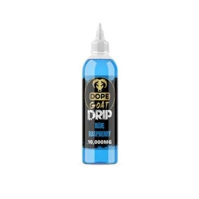 Dope Goat Drip 10,000mg CBD Vaping Liquid 250ml (70PG/30VG)