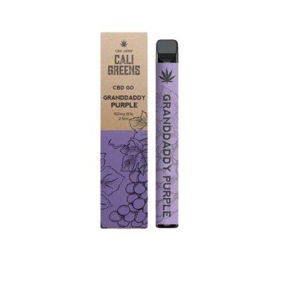 Cali Greens CBD GO 150mg Disposable Vape Pen