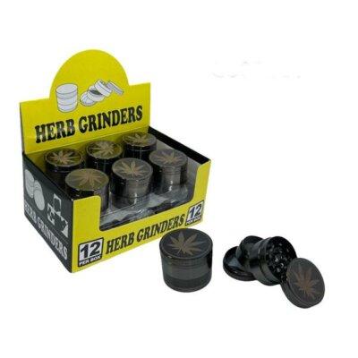 4 Parts Metal Herb Grinder 40mm – GS0866-40-4B